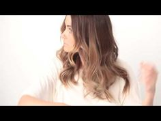 Curling hair - The Every Day Wave.