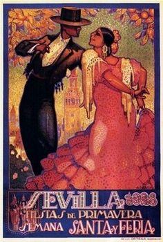 Sevilla Poster Print by Da pena (25 x 36)