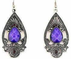 Hey, I found this really awesome Etsy listing at https://www.etsy.com/listing/195501794/silver-exquisite-purple-beaded-and