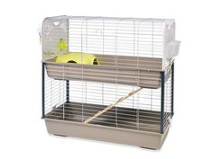 Amazon.com : Lixit Animal Care Savic Caesar Rabbit and Guinea Pig 2-Tier Cage : Pet Supplies