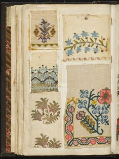 [Embroidery sample book] Author: Maison Sedille (Firm) Subject: Embroidery -- Iran