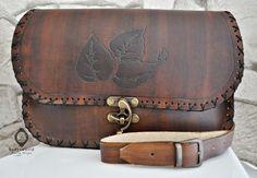 Bolsa de bandolera de piel genuina para mujeres. Las bolsas y los colores son adecuadas para todas las estaciones. Todo en la bolsa está hecho a mano, que hace hincapié en la naturalidad: color,...