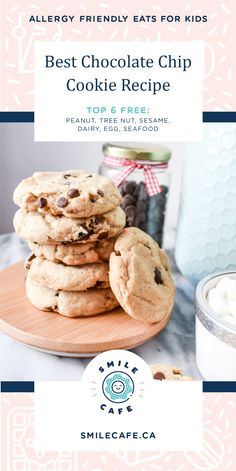 Get ready for a delicious flavour explosion in these chocolate chip cookies! Morsels of oozy chocolate that melt in your mouth wrapped in a delectable cookie crunch. Get stuck into this dairy free, egg free, peanut free and tree nut free recipe that kids will love to bake, eat and share!