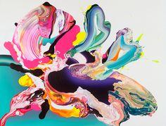 Yago Hortal acrylic painting