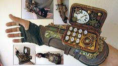 Arma Steampunk, Design Steampunk, Costume Steampunk, Steampunk Weapons, Style Steampunk, Steampunk Gadgets, Steampunk Clothing, Steampunk Fashion, Gothic Steampunk