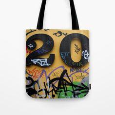 Tote bag - graffiti no. 20 on a wall photograph. G Man, Shopping Bag, Graffiti, Photograph, Reusable Tote Bags, Wall, Stuff To Buy, Photography, Photographs