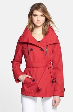 Red Trenchcoat by London Fog. Buy for $99 from Nordstrom