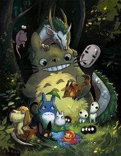 Tiempo Ghibli por Rockman0
