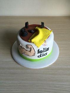 Torta de gimnasio / torta de ejercicio / torta de gym