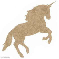 Compra nuestros productos a precios mini Unicornio realista al galope de madera para decorar - 19 x 12 cm - Entrega rápida, gratuita a partir de 89 € !