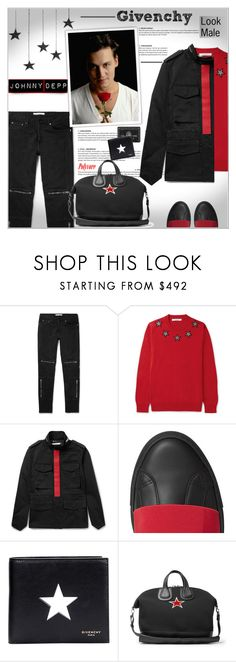 """""""GIVENCHY : Look Male"""" by alves-nogueira ❤ liked on Polyvore featuring Givenchy, men's fashion and menswear"""