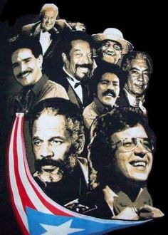 Leyendas/Legends composers & singers of Puerto Rico Puerto Rican Power, Puerto Rican Music, Puerto Rico Island, Puerto Rico Food, Minions, Salsa Music, Puerto Rico History, Puerto Rican Culture, Porto Rico