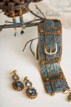 KELITCH Created Turquoise Beaded Bracelet Handmade Braided Stretch Bracelets Cuff Fashion Jewelry (Blue A) – Fine Jewelry & Collectibles Seed Bead Jewelry, Bead Jewellery, Beaded Jewelry, Handmade Jewelry, Bead Embroidered Bracelet, Bead Embroidery Jewelry, Jewelry Patterns, Bracelet Patterns, Peyote Patterns
