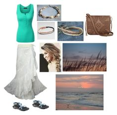 """""""Spain outfit idea"""" by aklein97 on Polyvore featuring Doublju, Chaco, Full Tilt, Cyrus, T-shirt & Jeans, women's clothing, women's fashion, women, female and woman"""