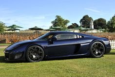 Noble M600  Developed from the still-born Noble M14 concept and short lived M15 model, the M600 features similar styling, although underneath the bodywork is a completely new drivetrain and engineering.