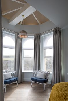 From our bedrooms to the beach, The Beach Hut to Zacry's take a look through our photos of Watergate Bay Hotel. Cornwall House, Gray Bedroom, Spare Room, Hush Hush, New Homes, Relax, Lounge, House Design, Seaside