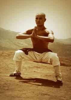 Ma Bu (horse stance) perfect form / knees at 90 Karate, Kung Fu Martial Arts, Chinese Martial Arts, Qi Gong, Aikido, Judo, Tai Chi Qigong, Shaolin Kung Fu, Martial Arts Styles