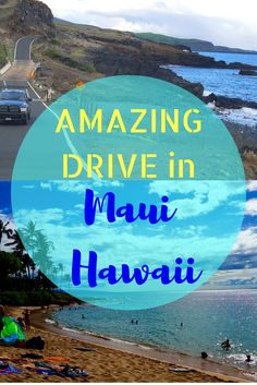 Amazing Drive in Maui Hawaii along the coast, through upcountry with amazing stops and viewpoints. Just as exciting and beautiful as Road To Hana. Read the travel post and get a guide to take this drive,