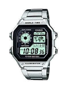 Casio herrenarmbanduhr casio collection digital quarz