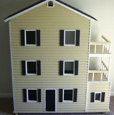 DIY -- Barbie Dollhouse