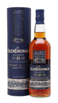 GLENDRONACH 18 YEAR OLD Allardice Sherry Cask, Highlands