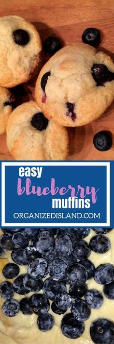 This easy blueberry muffin recipe is so quick that even on the busiest mornings, you can start the morning and breakfast with these light and fluffy muffins!