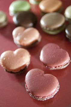 Heart Shaped Macarones