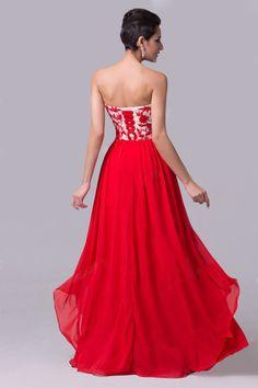 2015 Fashion Design Sweetheart A Line Prom Dress With Appliques Chiffon 9256e5e4a3