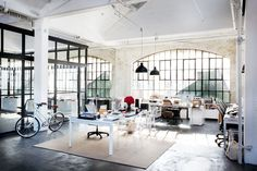 Take a Tour of the Gorgeous Set of The Intern via @MyDomaine