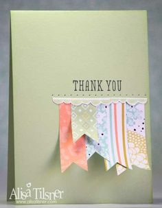 Sweet Sorbet Designer Series Paper - Created by Alisa Tilsner www.alisatilsner.com #sweetsorbet #saleabration2014 #stampinup