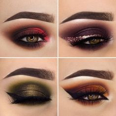 "2,911 Likes, 161 Comments - chaleen.deed@gmail.com (@chaleendeed) on Instagram: "". Collage of this week's eye makeups ! Which is your fav ? What would you wanna see next ?…"""