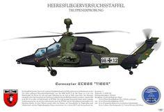 "Eurocopter EC665""Tiger""."