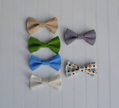 10 Party Bowties for Birthday Party-Bow ties-Birthday Party Favor-Bow ties for boys-Photo Prop-Wedding by SewingCelebrations on Etsy