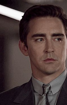 """I'm intrigued by Joe. He's not an easy man to understand, and I'm still learning. His unprincipled ambition. His wild aspiration. I defend him, even when he does despicable things. Joe knows what he wants to be."" -- Lee Pace"