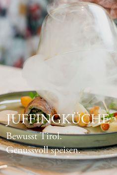 """Bald starten wieder unsere Köche, die wir so sehr vermisst haben. Je mehr wir selbst kochen, desto mehr schätzen wir die große Kunst unseres Küchenteams. Wir freuen uns, wenn sehr gute Mitarbeiter achtsam mit bester Ware umgehen und verstärkt Tiroler Lebensmittel verwenden. Dafür wurde das #Juffing auch in 2020 wieder von der Agrarmarketing Tirol GmbH mit der """"Bewusst Tirol"""" Münze ausgezeichnet. #genussderbeflügelt #regional #bewussttirol #genusshotel Fotocredit: Netzwerk… Regional, Food, Foods, Kunst, Essen, Meals, Yemek, Eten"""
