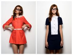 Vivetta dresses- That orange dress would look so cute with a nude shoe. No doubt !