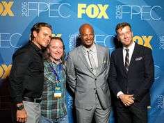 With the stars of the new FOX show Lethal Weapon (L-to-R) Clayne Crawford, me, Damon Wayans, McG