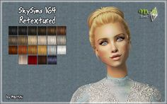 Angles Mesh by SkySims included. Sims 2 Hair, Martini, Play, Female, Martinis