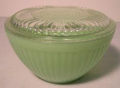 vintage Jadite bowl
