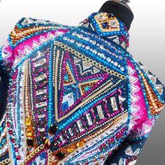 """Careless Whisper""  Showmanship Jacket, custom made for Ryan Herrera  http://www.lacollezionedianna.com/posts/careless-whisper"