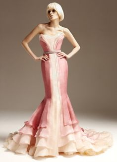 Ombre dress by Versace. LOVE!!!