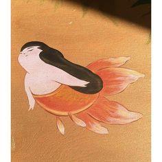 Image result for goldfish art
