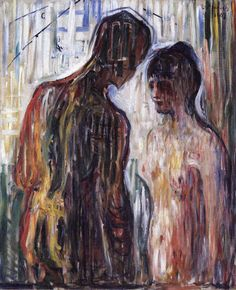 Edvard Munch: Cupid and Psyche, 1907.