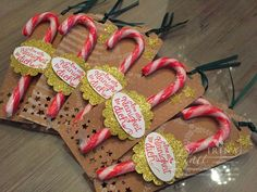 Stempelschön: The face of a sweet cane - with wavy pendant from Stampin & # Up! Stampin Up Christmas, Christmas Time, Christmas Crafts, Christmas History, Diy Gifts Just Because, Candy Cane Image, Candy Cane Coloring Page, Stampin Up Weihnachten, Just Like Candy