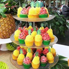 2nd Birthday Party For Girl, Spongebob Birthday Party, Watermelon Birthday Parties, Fruit Birthday, Fruit Party, Birthday Ideas, Luau Birthday Cupcakes, 30th Birthday, Summer Birthday
