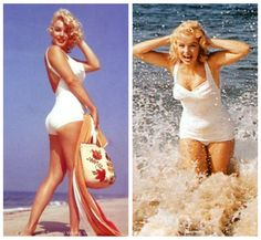 The cutest 1950s swimsuits on the market, part one.