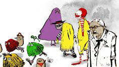 fast food zombies