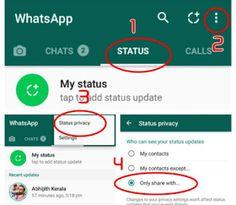 Super Amazing Tricks  Kash pahle pata hoti Mobile Tricks: Status privacy Update Whatsapp, Thankful For Friends, Myself Status, Amazing