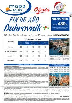 Oferta especial fin de año en Dubrovnik.