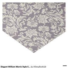 """Elegant William Morris Style English Chintz Plum 10"""" X 15"""" Tissue Paper"""